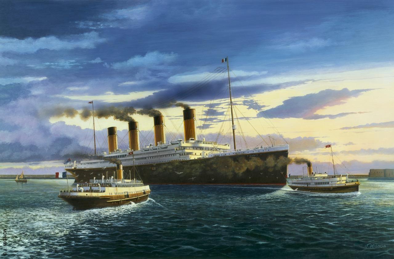 Dio : SS Nomadic (Réalisation 3D 1/200°) par Iceman29 - Page 7 Titanic1