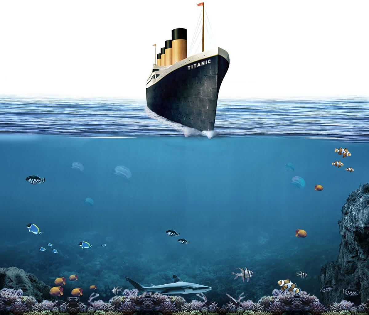 Titanic, Return To Cherbourg