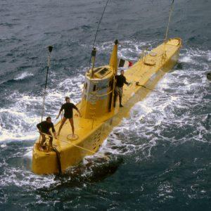 Archimède retour de plongée ©COMEX