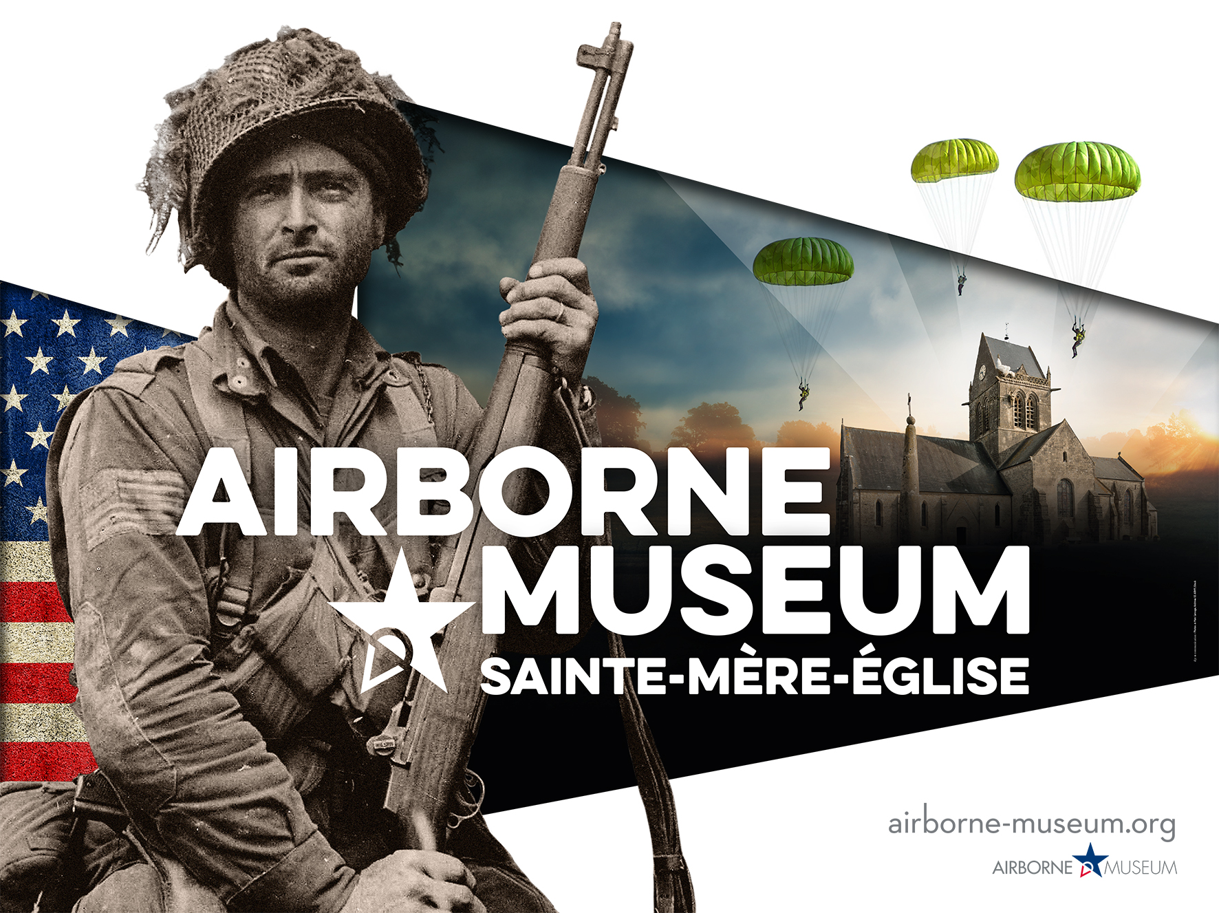 Affiche AIRBORNE MUSEUM 2020- 450x340